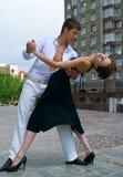 Dança do Latino fotografia de stock