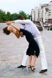 Dança do Latino foto de stock royalty free