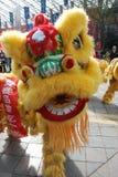 Dança do leão Imagens de Stock