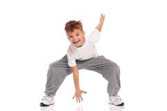 Dança do menino fotos de stock royalty free
