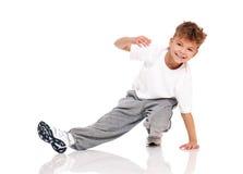 Dança do menino Foto de Stock
