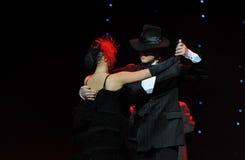 A dança do mundo da Áustria do dança-adagio- do vaqueiro Imagens de Stock Royalty Free