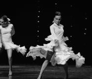 Dança do mundo de Áustria Instantâneo-espanhola do flamenco- Fotos de Stock Royalty Free