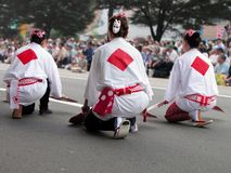 Dança do pardal imagens de stock