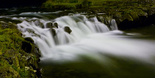 Dança do rio Fotos de Stock Royalty Free