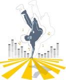 Dança do sulco Fotografia de Stock Royalty Free