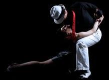 Dança do tango Imagens de Stock