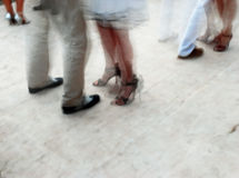 Dança do tango Fotos de Stock