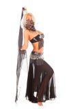 Dança do ventre. Imagem de Stock Royalty Free