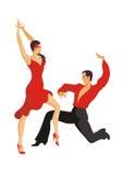 Dança doble de Paso Fotos de Stock