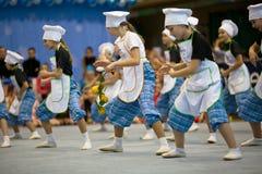 Dança dos cozinheiros Fotografia de Stock Royalty Free