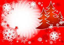 Dança dos flocos de neve ilustração royalty free