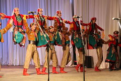 Dança dos guerreiros Imagem de Stock Royalty Free