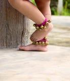 Dança dos pés das meninas Fotografia de Stock Royalty Free