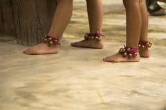 Dança dos pés das meninas Imagens de Stock Royalty Free