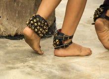 Dança dos pés das meninas Imagem de Stock Royalty Free