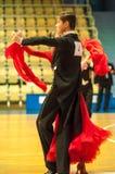 Dança dos pares Fotos de Stock Royalty Free