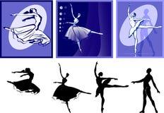 Dança dos povos Ilustração Royalty Free