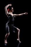Dança elegante Fotografia de Stock