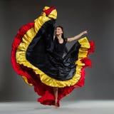 Dança em um pé Foto de Stock