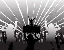 Dança em um partido Imagens de Stock