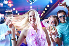 Dança energética fotos de stock royalty free