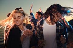 Dança energética fotos de stock
