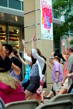 Dança EVANSTON de Let, ILLINOIS JULHO 2012 Foto de Stock Royalty Free