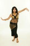 Dança exótica da mulher Fotografia de Stock