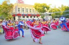 Dança exuberante Fotos de Stock