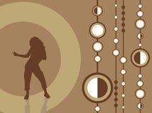 Dança fêmea Imagem de Stock