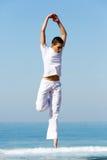 Dança fêmea do dançarino Fotografia de Stock