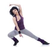 Dança fêmea nova fotografia de stock