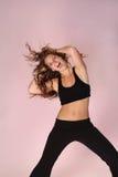 A dança gosta de ninguém que presta atenção Imagens de Stock Royalty Free