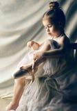 Dança graciosamente Fotografia de Stock Royalty Free