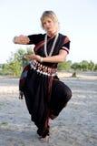 Dança indiana imagens de stock