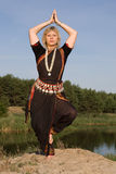 Dança indiana foto de stock royalty free