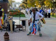 Dança indiana americana Foto de Stock