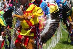 Dança indiana americana Fotografia de Stock Royalty Free