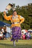 Dança indiana tradicional Foto de Stock Royalty Free