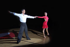 Dança Latin imagem de stock