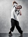 Dança moderna de homem novo Fotos de Stock