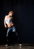 Dança molhada Imagens de Stock Royalty Free