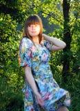 Dança na floresta Imagens de Stock