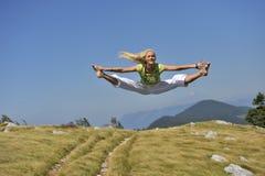 Dança na natureza Imagem de Stock