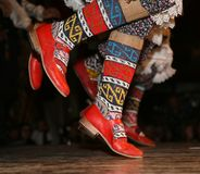 Dança nacional do turco Imagem de Stock Royalty Free
