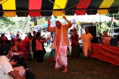 Dança no festival Fotos de Stock Royalty Free