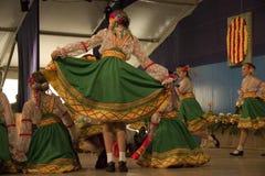 Dança no ² s de Cantonigrà Imagens de Stock Royalty Free