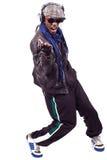 Dança nova fresca dos homens negros imagens de stock royalty free