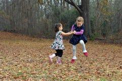 Dança para a alegria Foto de Stock Royalty Free